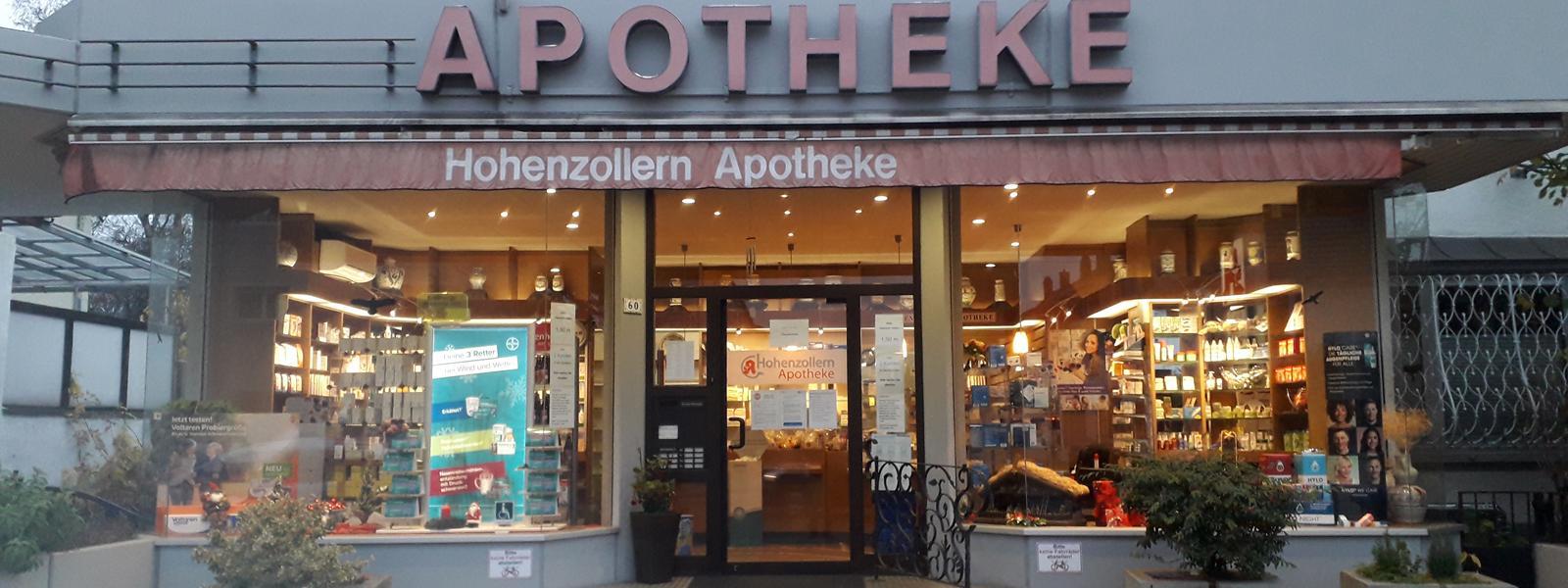 Hohenzollern Apotheke Ludwigshafen